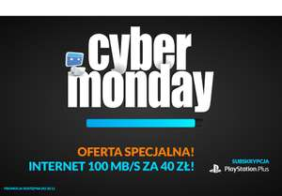 [Cyber Monday] Internet 100Mb/s za 40zł miesięcznie @ Vectra