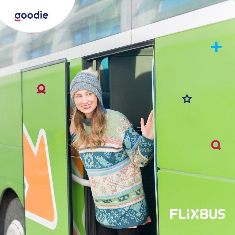 -30% na bilety we FlixBus z aplikacją goodie