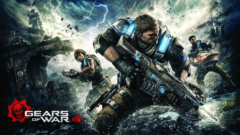 Gears of War 4 za darmo przez weekend w abonamencie Xbox Live Gold.