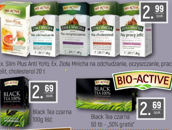 Herbaty od Big-Active