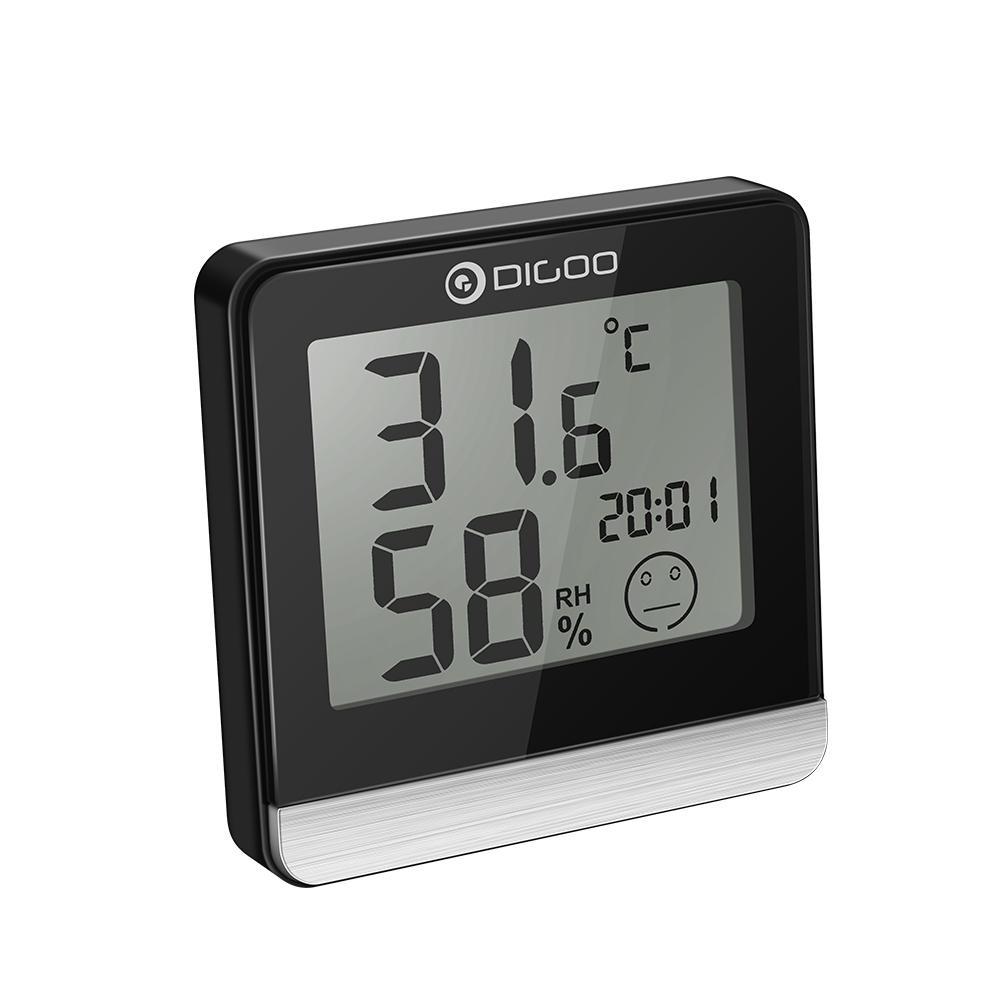 Zegar termometr i wilgotnościomierz Digoo DG-BC20
