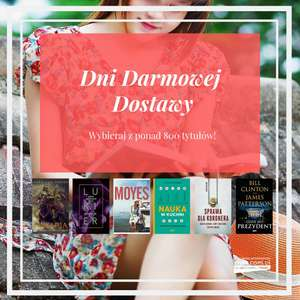 Darmowa dostawa na ponad 800 tytułów + książka za 2,90zł przy MWZ 20zł @ Znak