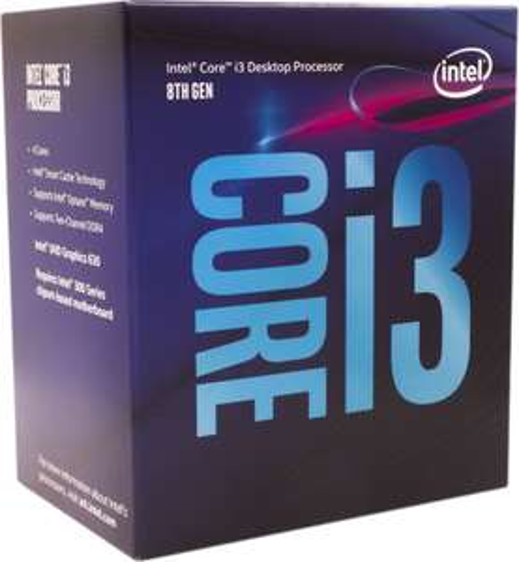 Procesor Intel Core i3-8100, 3.60GHz, 6MB, BOX (BX80684I38100)