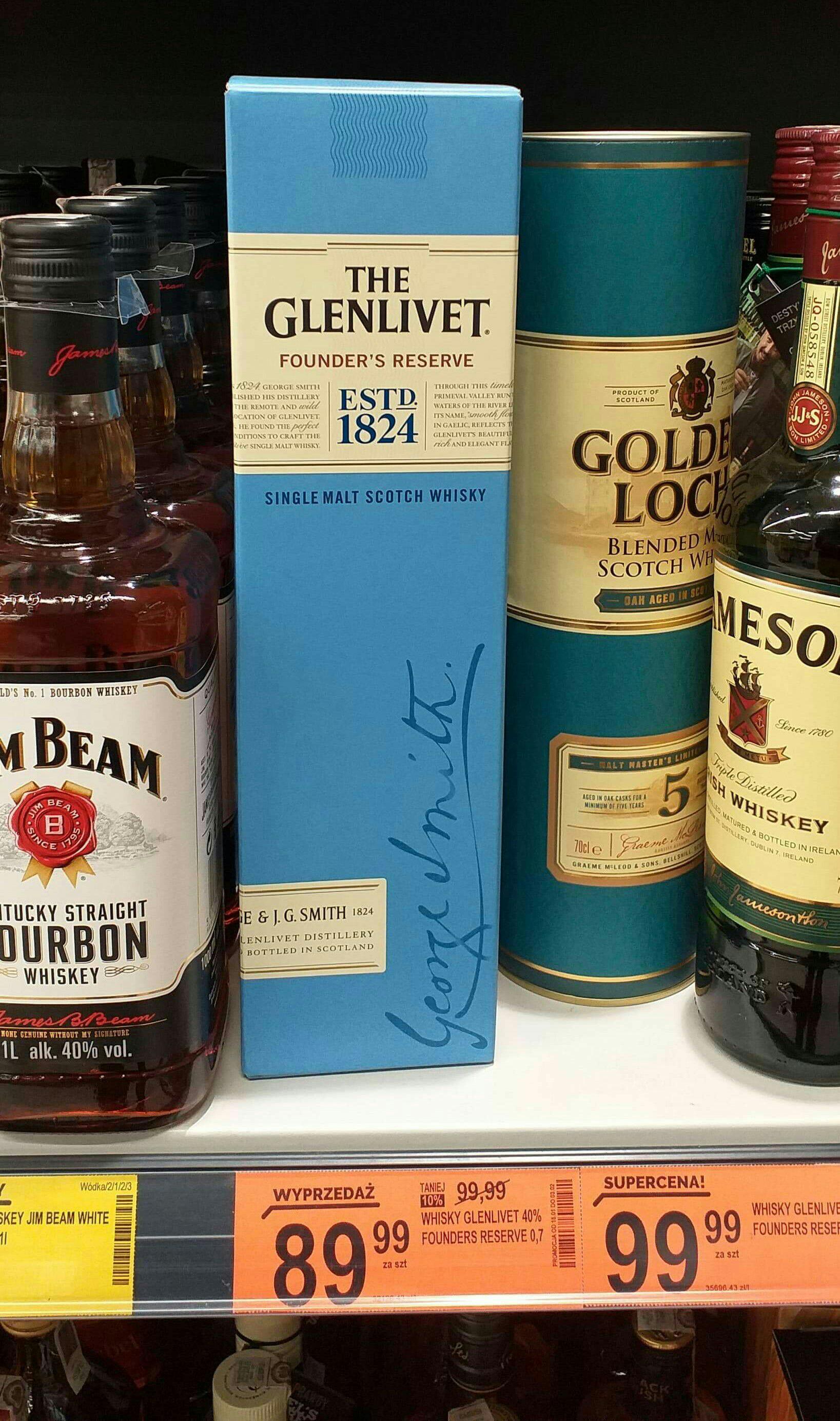 Whisky The Glenlivet (Single Malt) @ Biedronka