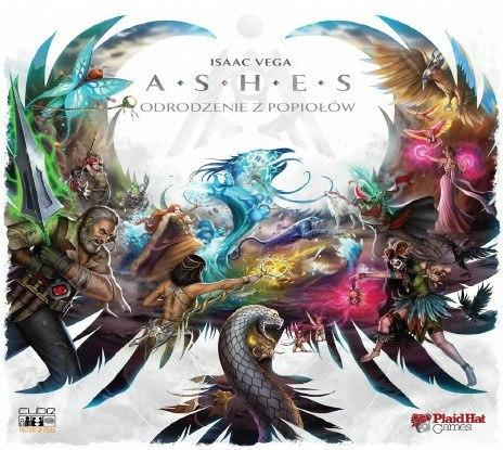 Gra planszowa Ashes: Odrodzenie z popiołów