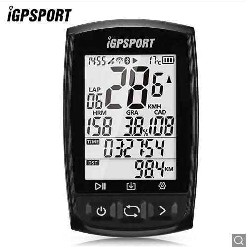 Licznik rowerowy z GPS, BT i ANT+ | iGPSPORT iGS50E