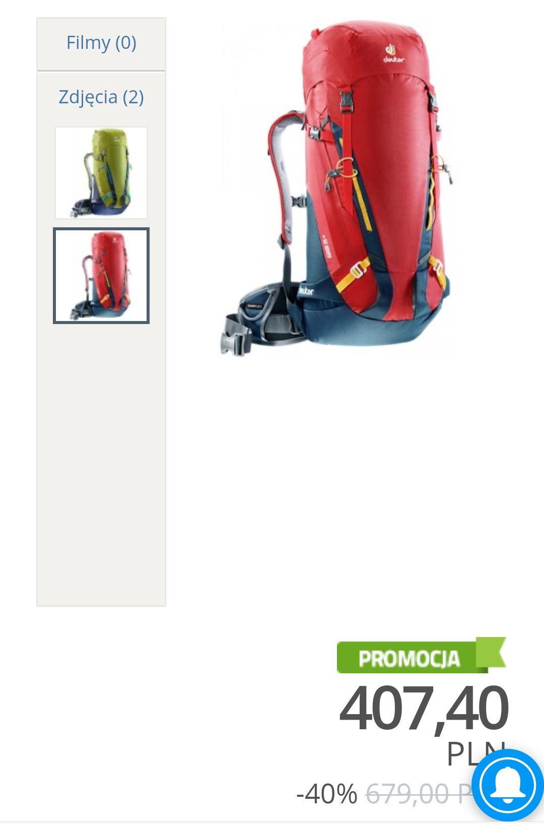 Plecak Deuter Guide 35+