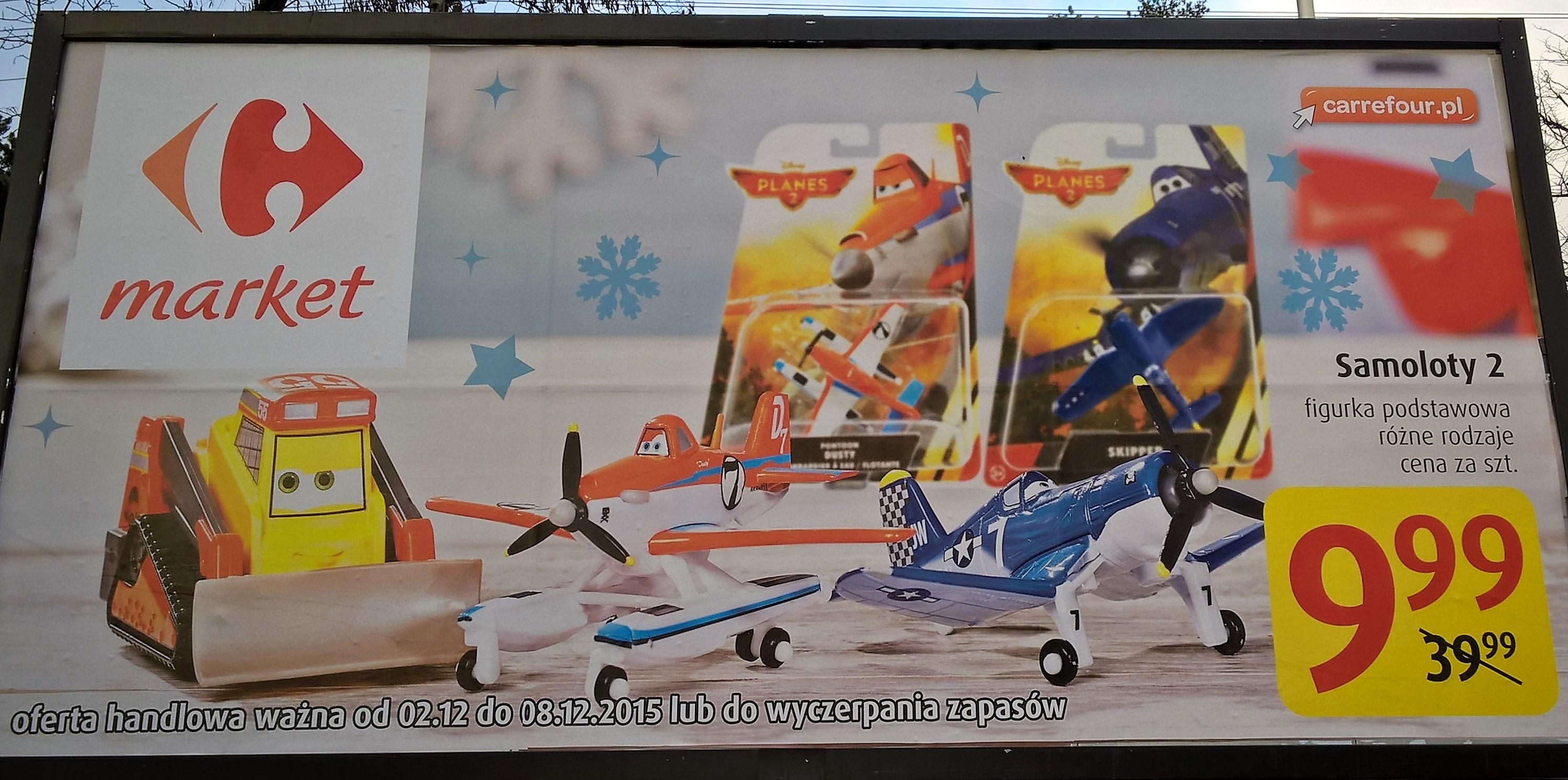 Pojazdy z filmu Samoloty 2 - @Carrefour