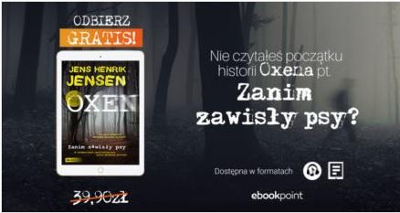 """Ebook lub audiobook do pobrania za darmo """"Zanim zawisły psy""""."""