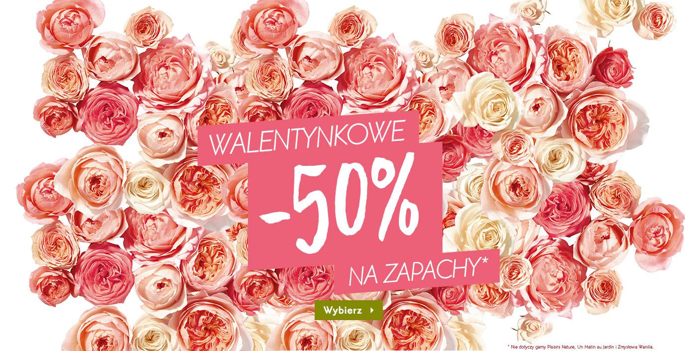 50% rabatu na perfumy @ Yves Rocher