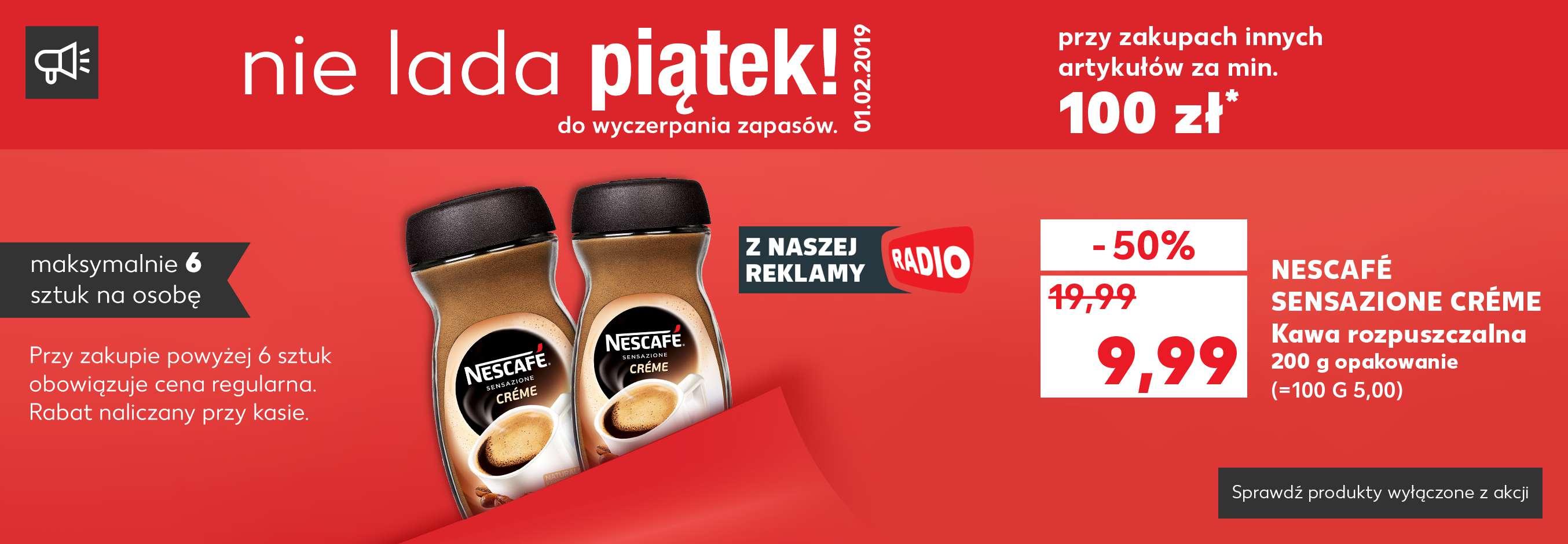 Nescafe Creme - kawa rozpuszczalna - KAUFLAND