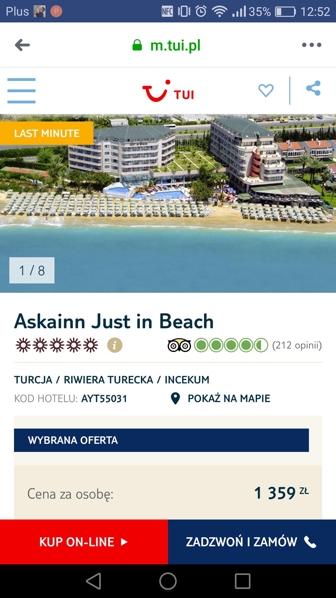 14 dni all inclusive w 5* hotelu w Turcji od Tui
