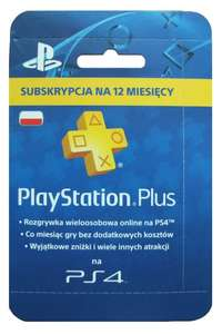 PS+ 12 miesięcy w Sony Center Gdańsk