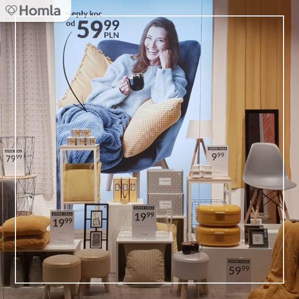 Homla - 50% rabatu na drugi tańszy produkt - Tekstylia