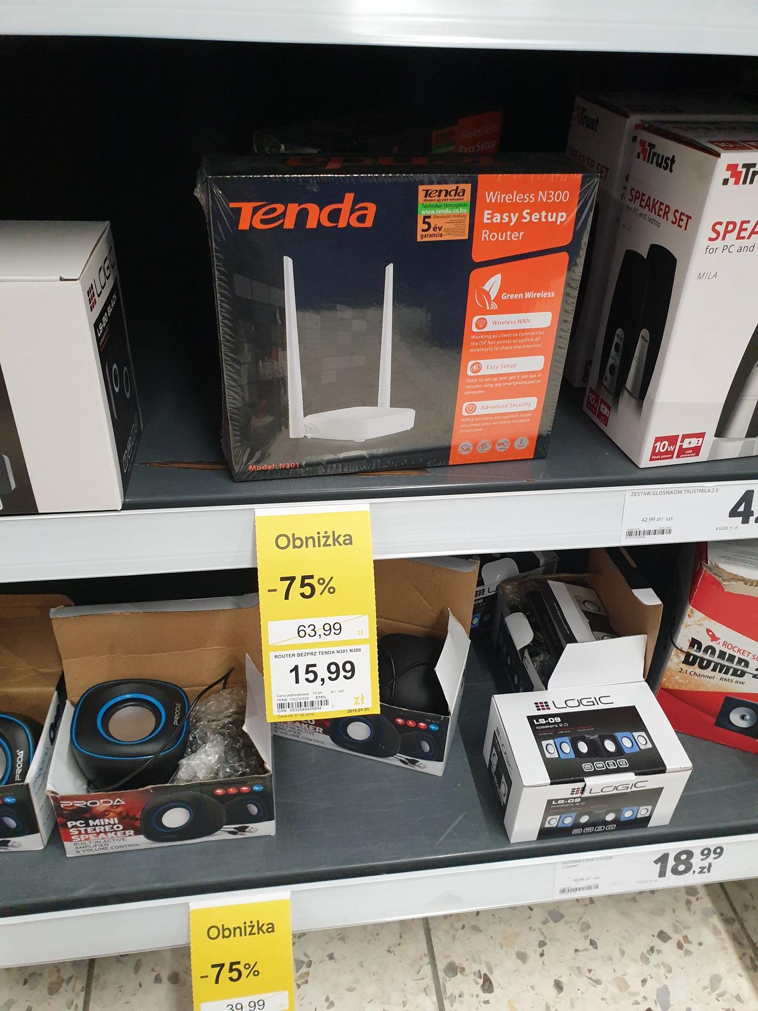 Router Tenda n301 tesco Warszawa Stalowa