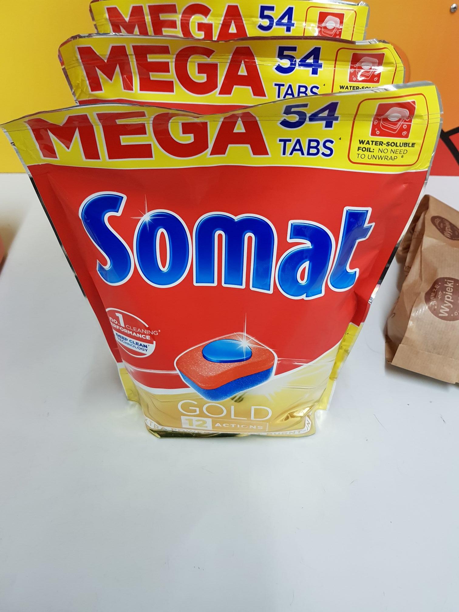 Tabletki do zmywarki Somat Gold 54szt