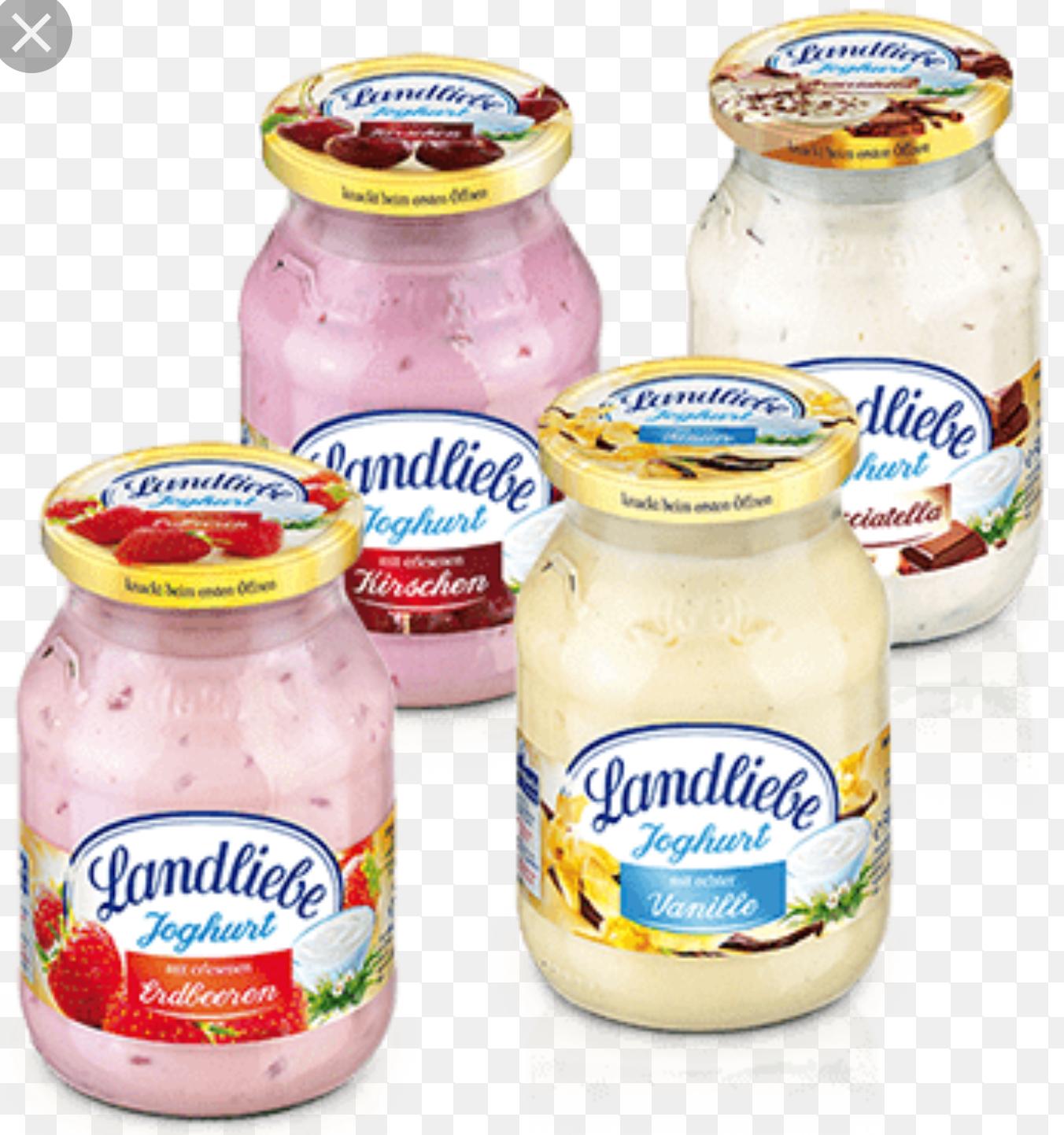 Jogurt Landliebe w Carefour cena za 2szt 7.99
