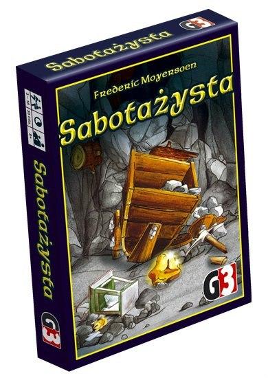 Sabotażysta (gra karciana) i dodatki po 22zł @gronek-gry.pl