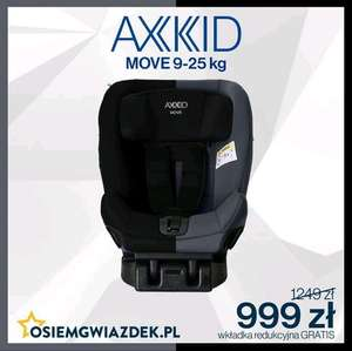 Fotelik RWF AXKID MOVE 9-25KG