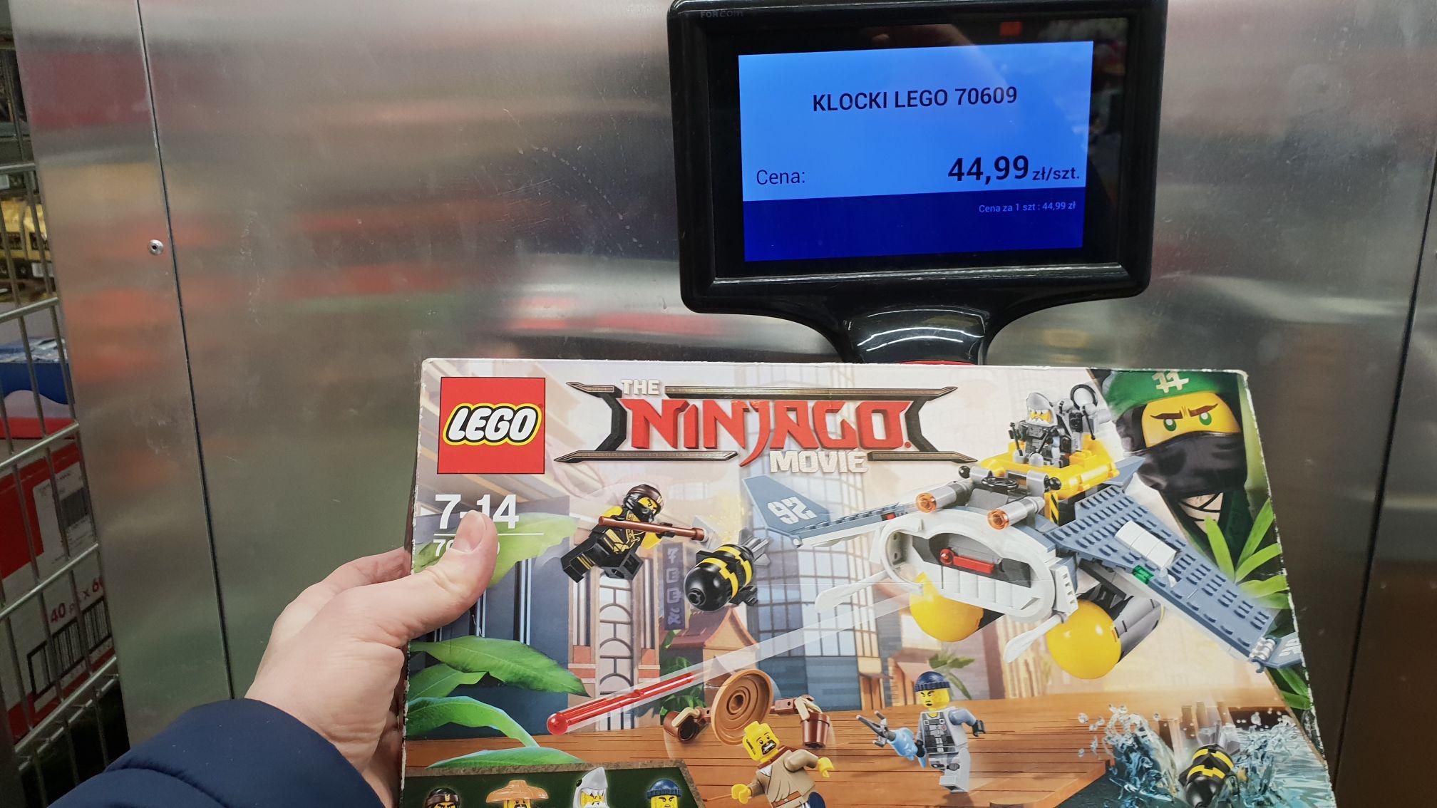 Mega wyprzedaż Lego w Biedronce