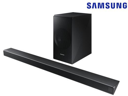 Soundbar z bezprzewodowym subwooferem Samsung HW-N550