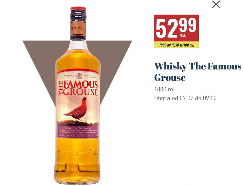 Famous Grouse Blended Whisky 1 litr Biedronka
