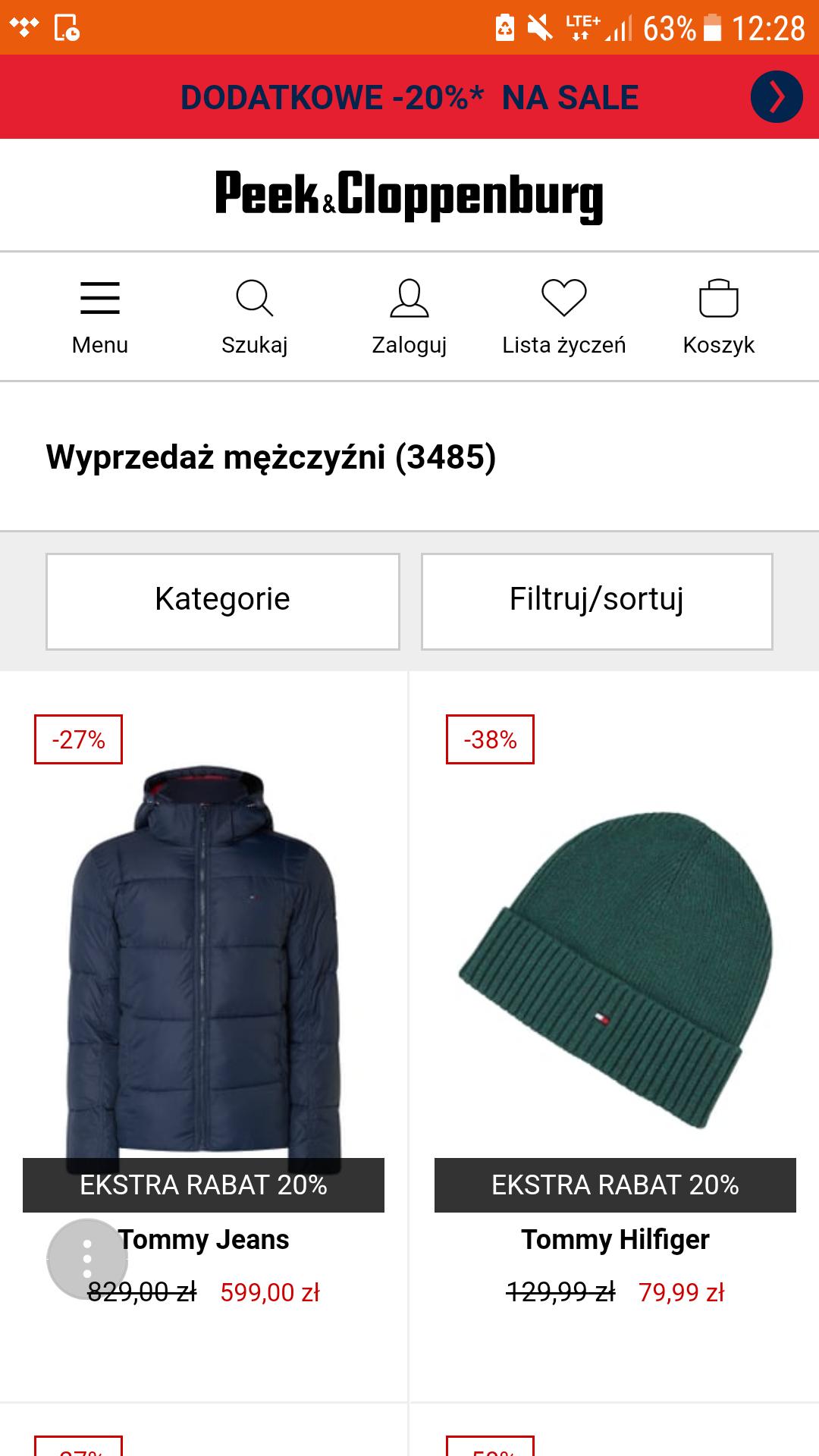 c8c01dcd Peek & Cloppenburg - promocje i rabaty w 2019 - Pepper.pl