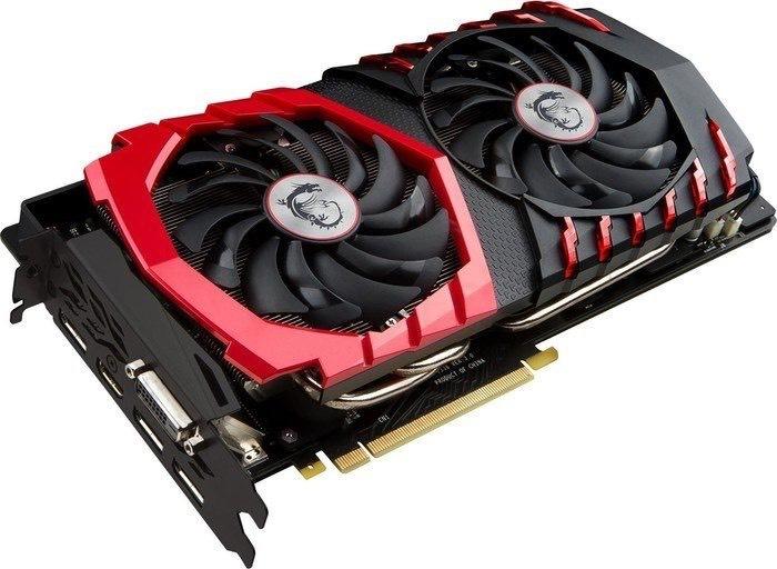 Karta graficzna MSI GeForce GTX 1070 Gaming 8GB