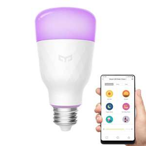 Xiaomi Mi Yeelight WiFi E26 E27 10W RGBW Smart LED