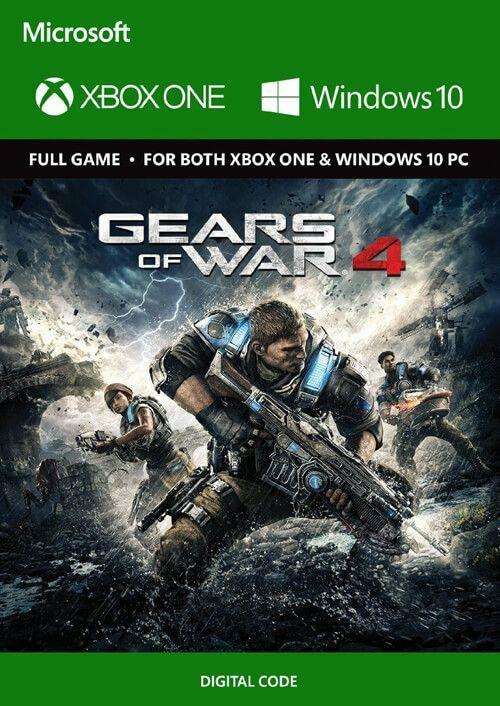 Gears of War 4 Xbox One/PC Klucz.