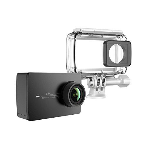Kamera YI 4k czarna + obudowa wodoszczelna