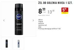 Żel do golenia Nivea - Intermarche