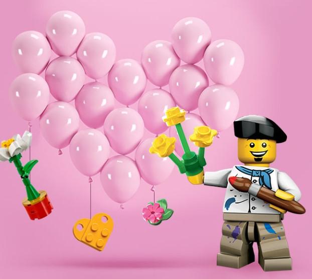 zrób dowolne zakupy za 100zł i odbierz zestaw klocków LEGO - w dowolnym sklepie Galerii Gliwice Europa Centralna