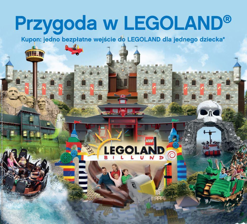 Darmowy wstęp dla dziecka przy zakupie min. 1 biletu dla osoby dorosłej @ Legoland (Billund, Dania)
