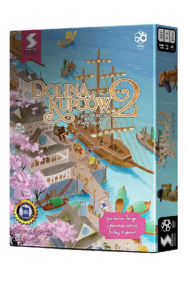 Dolina Kupców 2: Era Mistrzów Kupieckich gra planszowa