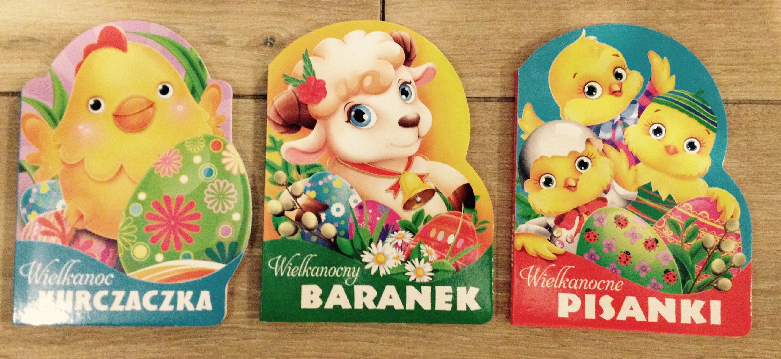Książeczki dla dzieci, Wielkanoc,  twarde strony, Tesco