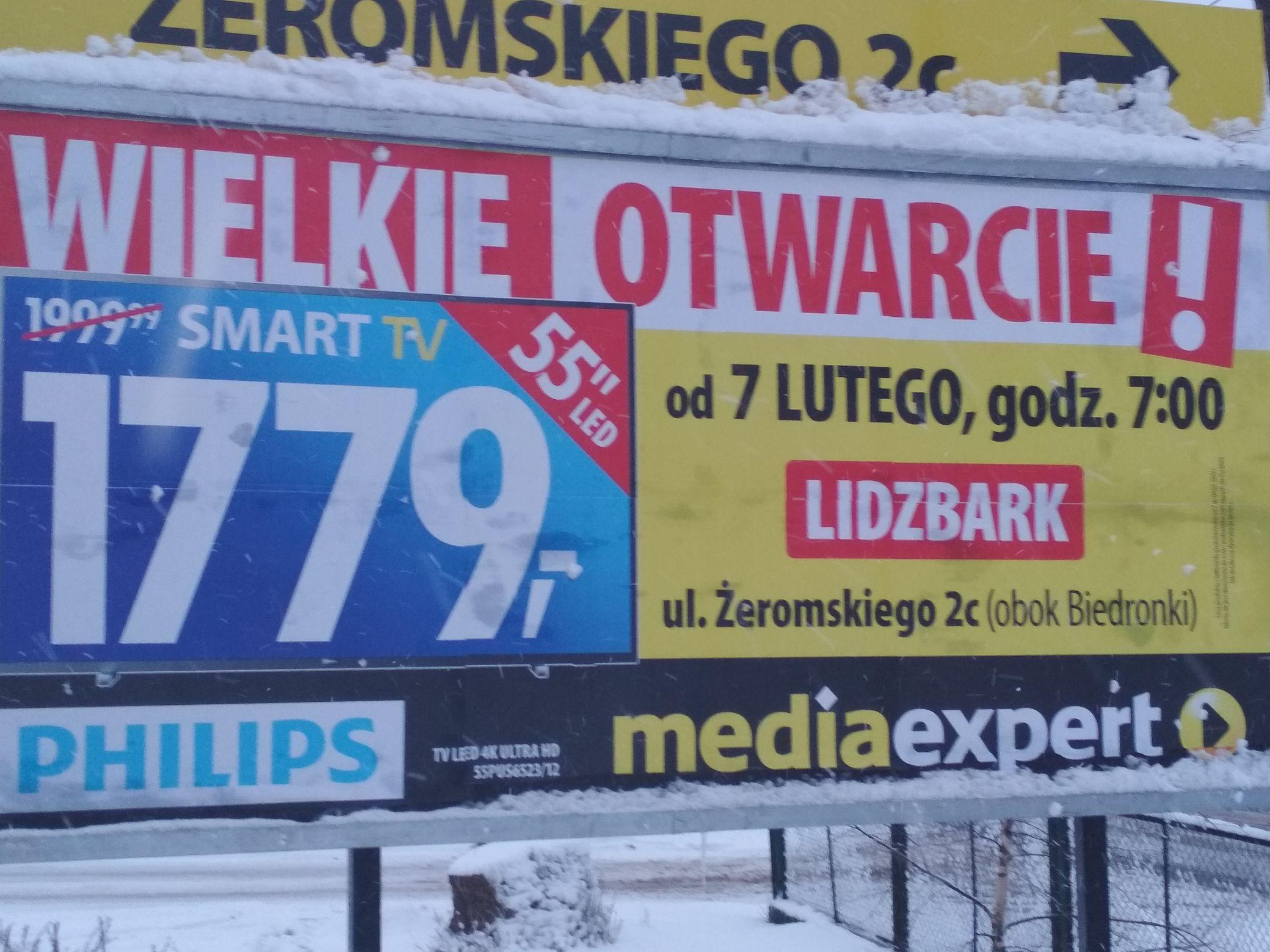 Telewizor Philips 55pus6523/12 |Lidzbark