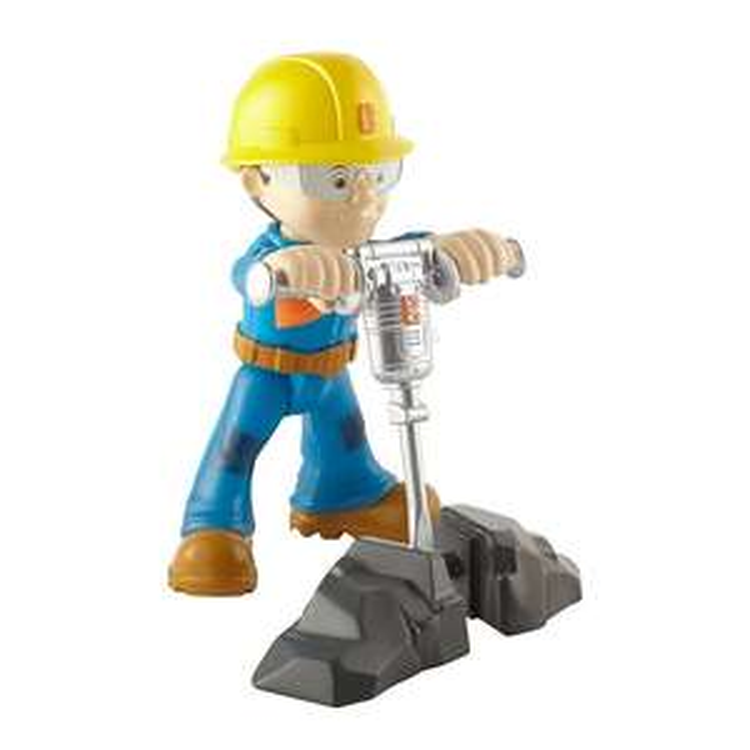 Bob Budowniczy minifigurka z narzędziami