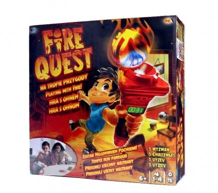 Gra Fire Quest – Na tropie przygody najtańsza dostawa 9.90 zł
