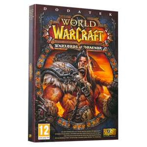 Pudełkowy World of Warcraft Warlords of Draenor! 49% taniej !!!