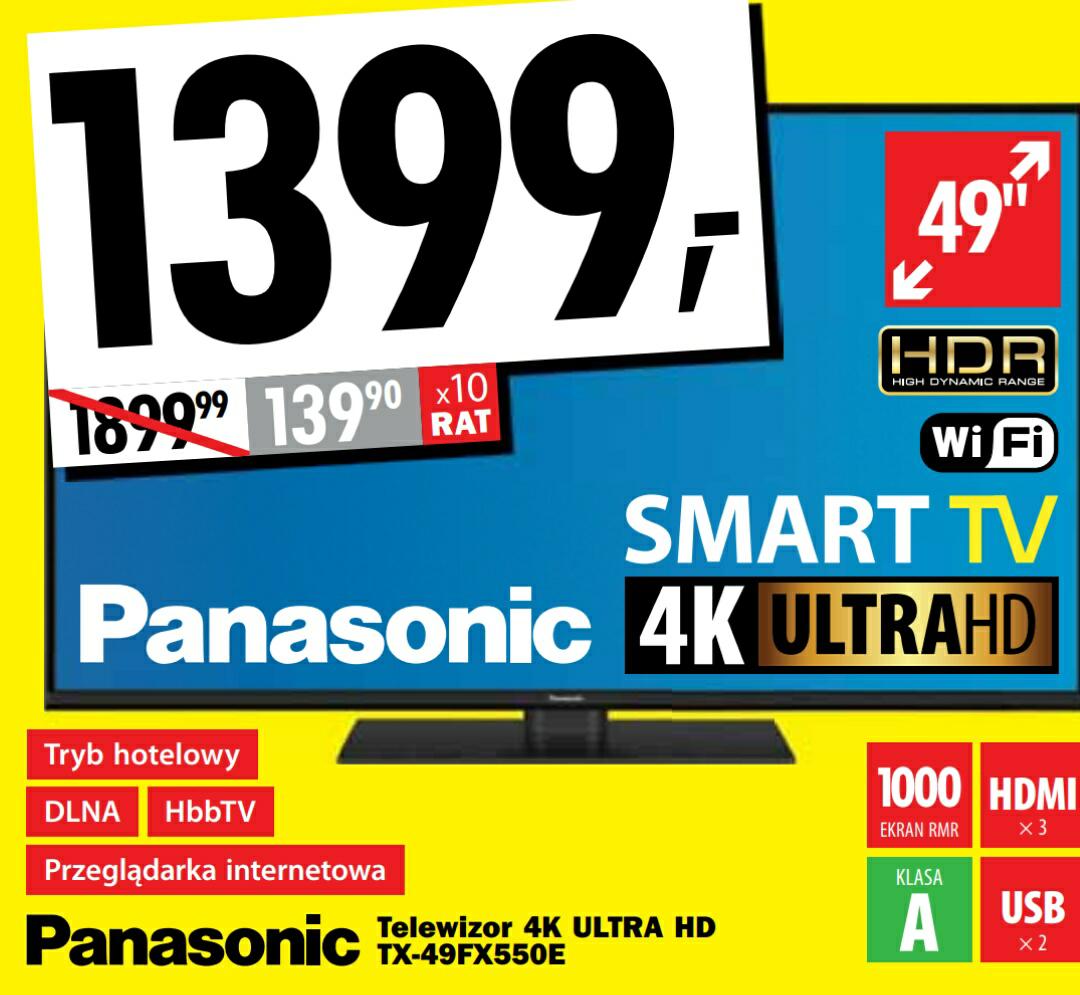 Wielkie Otwarcie Media Expert w Lidzbarku / Lidzbark - TV Panasonic 49 - inne Oferty