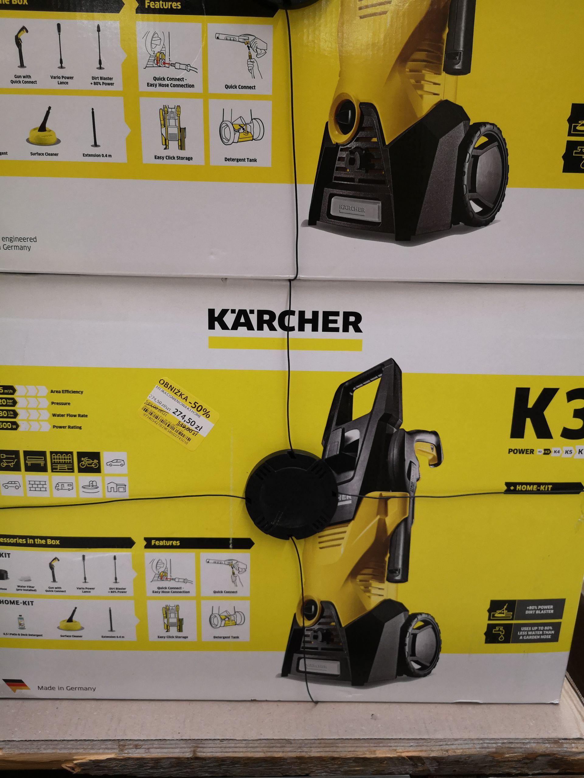 Karcher K3 + home Kit TESCO Milczańska Szczecin