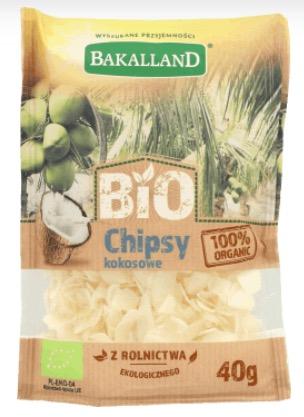Chipsy kokosowe, bio, Bakalland, daktyle, figi i wafle, Rossmann