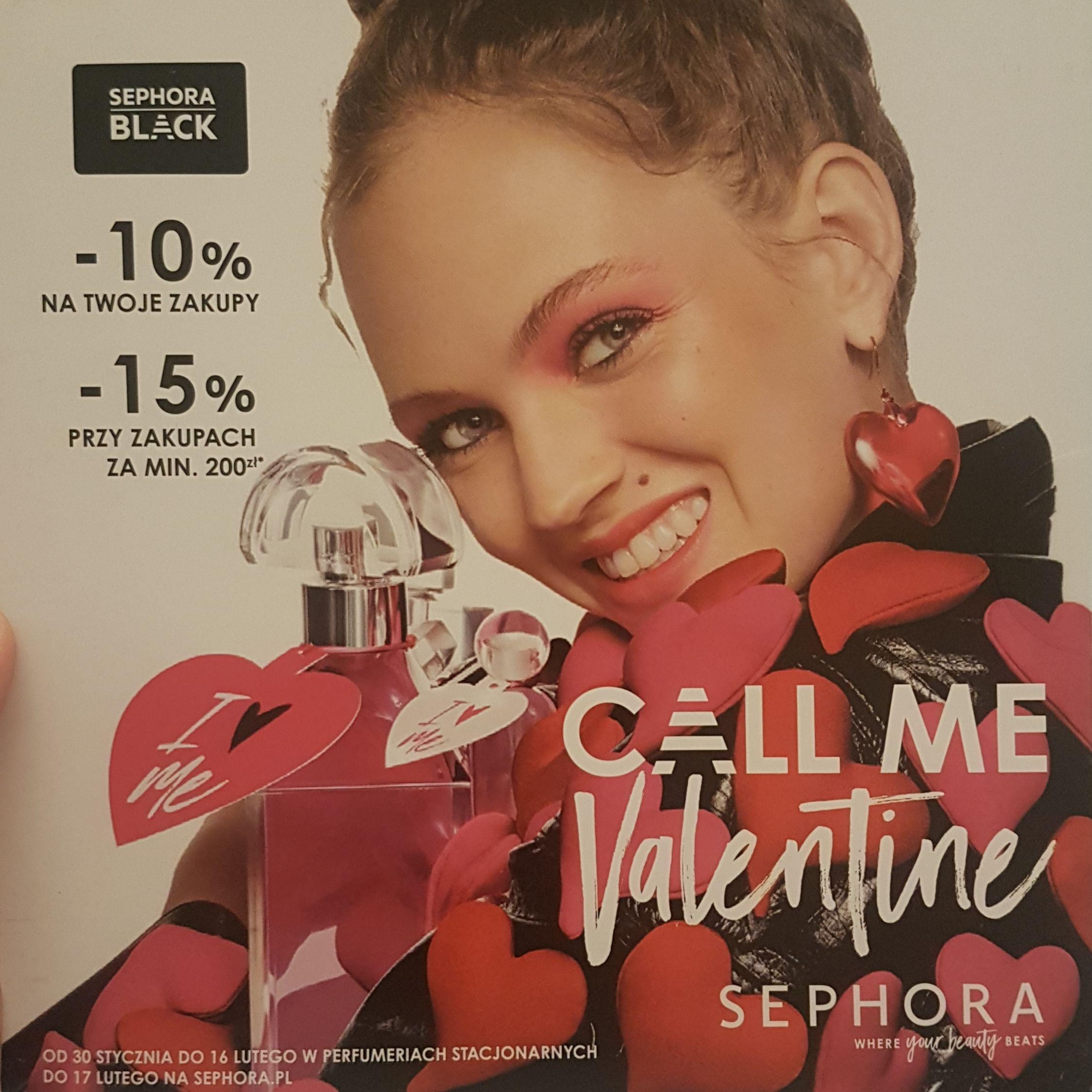 -15% na zakupy w Sephorze przy mwz 200zł