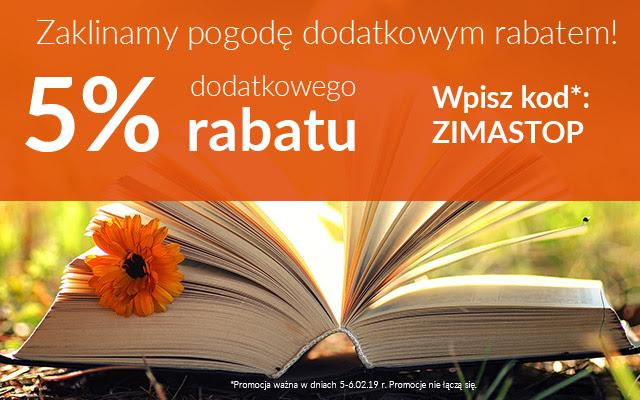 Księgarnia LIVRO dodatkowe 5% na wszystko