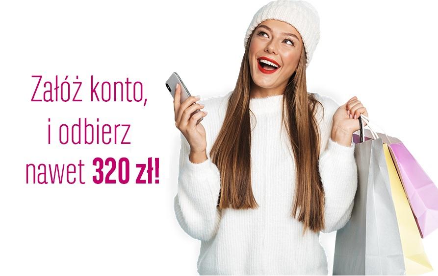 Nawet 320 zł za założenie konta w BGŻ BNP Paribas!