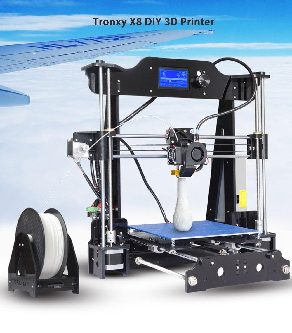 Drukarka 3D Tronxy X8 dla początkujących