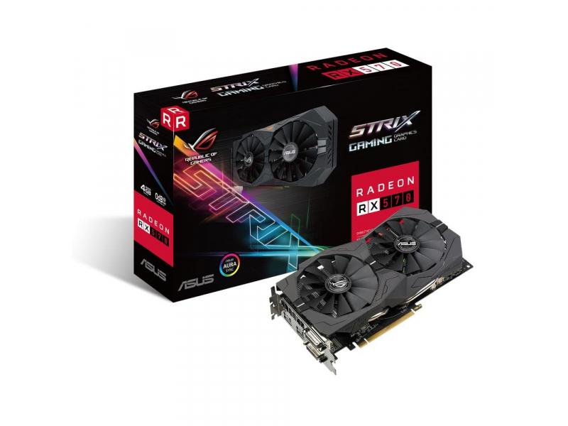 ASUS Radeon RX 570 STRIX 4GB GDDR5 649zł @ x-kom