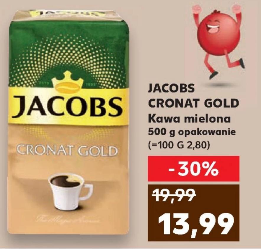 Jacobs Cronat Gold 500g w Kaufland za 13.99