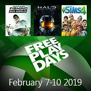 The Sims 4, Halo MCC i Fishing Sim World za darmo przez weekend w abonamencie Xbox Live Gold.